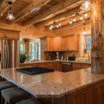 The beautiful kitchen.